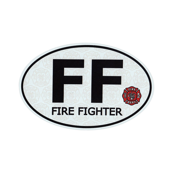 "Magnet - Fire Fighter (6.5"" x 4.25"")"