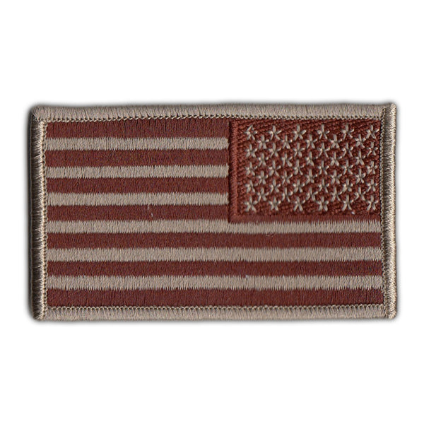 Patch - United States Flag Desert (Reverse)