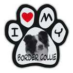 Picture Paw Magnet - I Love My Border Collie