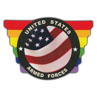 Bumper Sticker - United States Armed Forces