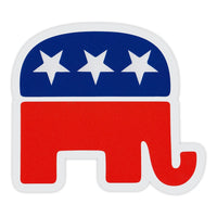 Bumper Sticker - Republican Party Elephant