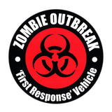 Bumper Sticker - ZOMBIE OUTBREAK First Response Vehicle