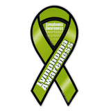 Ribbon Magnet - Lymphoma Cancer Support