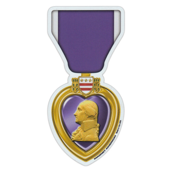 "Magnet - Purple Heart Ribbon (2.5"" x 5.25"")"