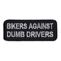 Patch - Bikers Against Dumb Drivers