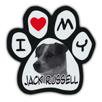 Picture Paw Magnet - I Love My Jack Russell
