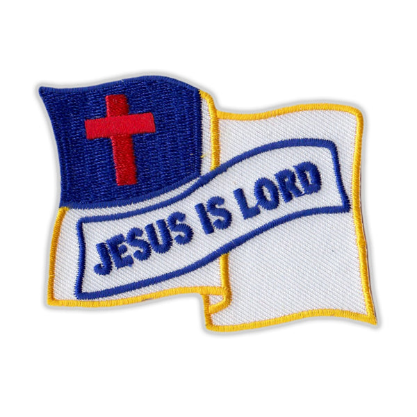 Patch - Jesus is Lord (Waving)