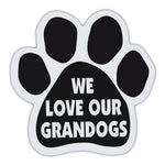 Dog Paw Magnet - We Love Our Grandogs
