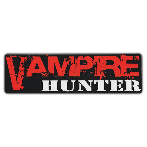 Bumper Sticker - Vampire Hunter