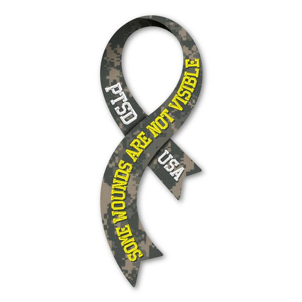 "Magnet - PTSD Awareness  (2.5"" x 6.5"")"