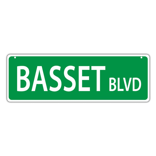 Street Sign - Basset Blvd