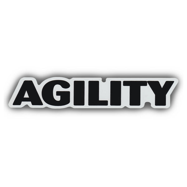 "Word Magnet - Agility (1.5"" x 7"")"