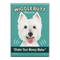 Refrigerator Magnet - Wigglebutt Biscuits, Shake Your Money Maker