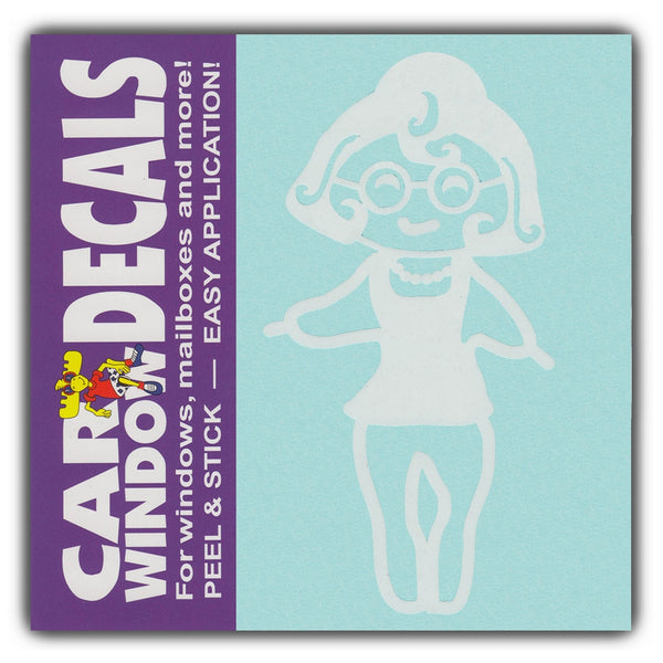 "Window Decal - Grandmother (4.5"" Tall)"
