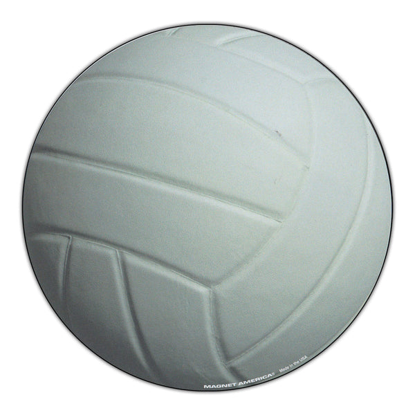 "Magnet - Volleyball (5.75"" Round)"