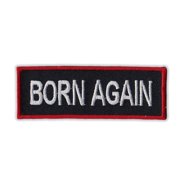 Patch - Born Again (Red)