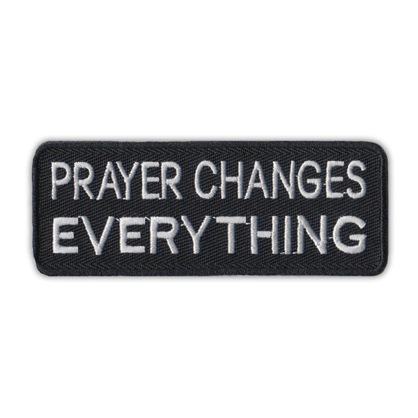 Patch - Prayer Changes Everything