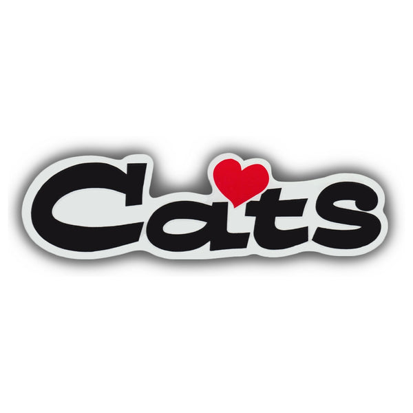 "Word Magnet - Love Cats (2"" x 7"")"