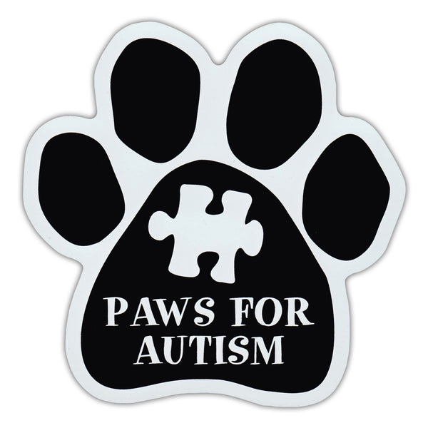 Dog Paw Magnet - Paws For Autism