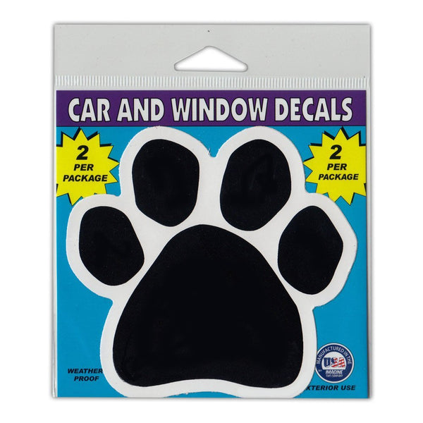 "Window Decals (2-Pack) - Dog/Cat Paw (4.5"" x 4.25"")"