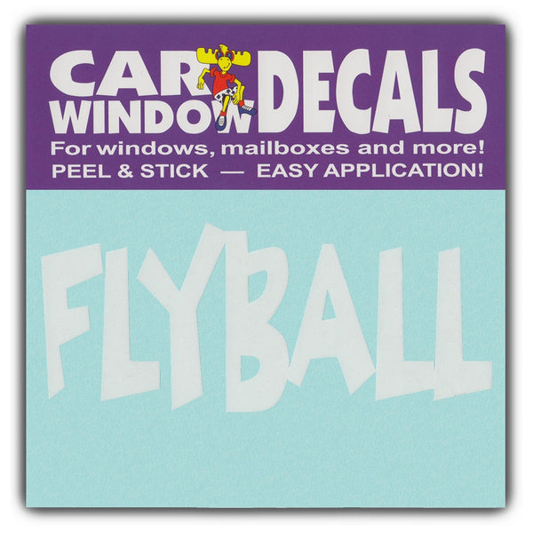 "Window Decal - Flyball (4.5"" Wide)"