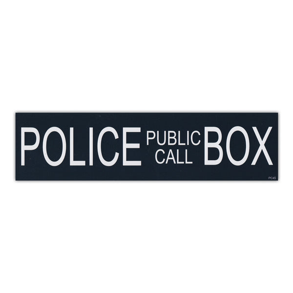 Bumper Sticker - Police Public Call Box