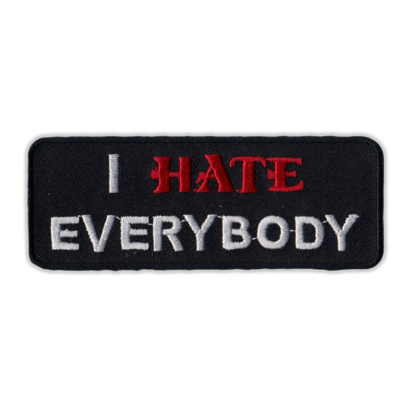 Patch - I Hate Everybody