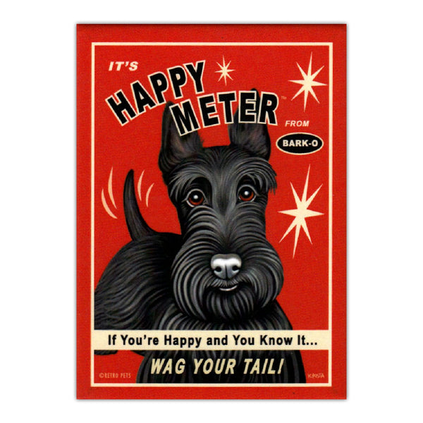 It's Happy Meter Wag Your Tail, Scottish Terrier