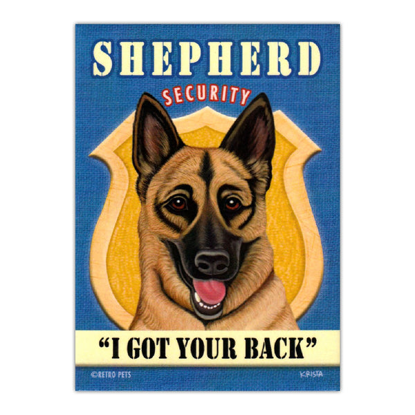 Refrigerator Magnet - Shepherd Security