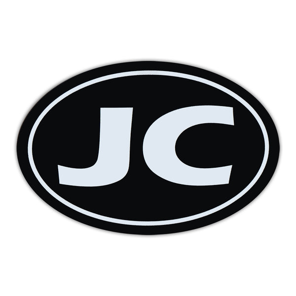 Oval Magnet - JC