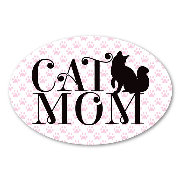 "Magnet - Cat Mom (6"" x 4"")"
