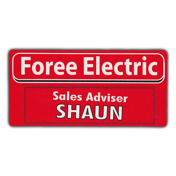 Bumper Sticker - Foree Electric Sales Adviser Shaun