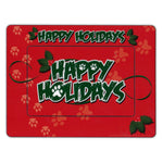 "Picture Frame Magnet - Happy Holidays (7.75"" x 5.75"")"