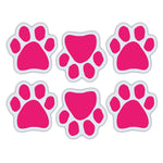 "Magnet Variety Pack - Pink Paw Magnets, 1.75"" x 1.75"" Each"