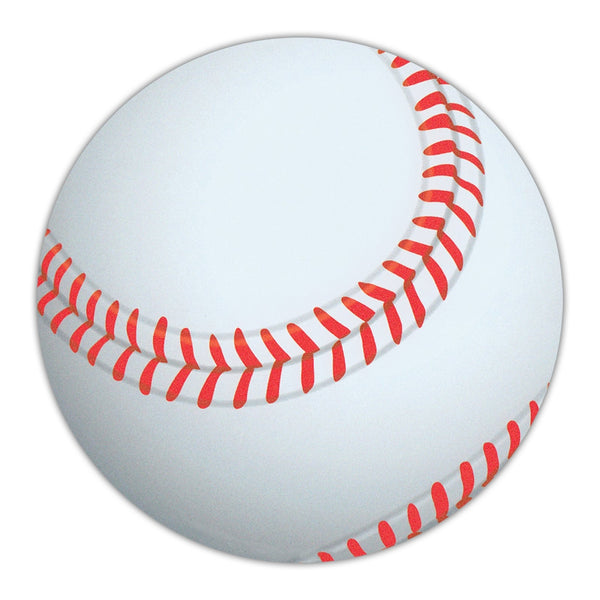 "Bumper Sticker - Baseball Shaped MagnetMagnet - Baseball (4.75"" Round)"