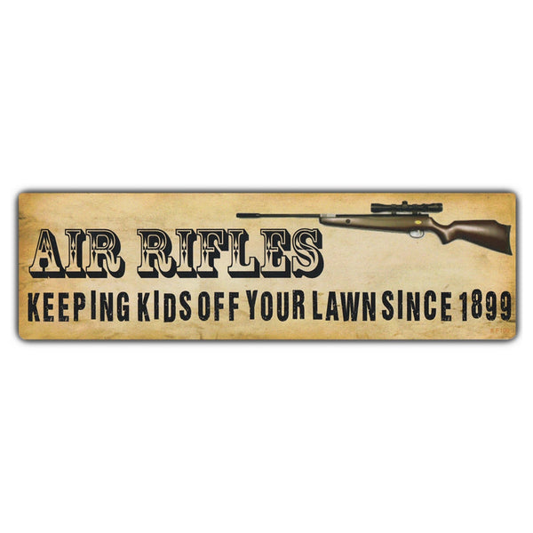 Bumper Sticker - AIR RIFLES Keeping Kids Off Your Lawn Since 1899