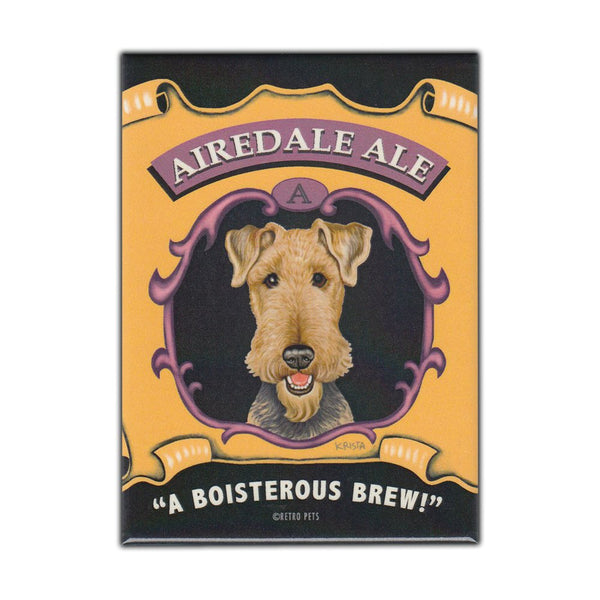 Refrigerator Magnet - Airedale Ale