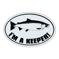 Oval Magnet - I'm A Keeper