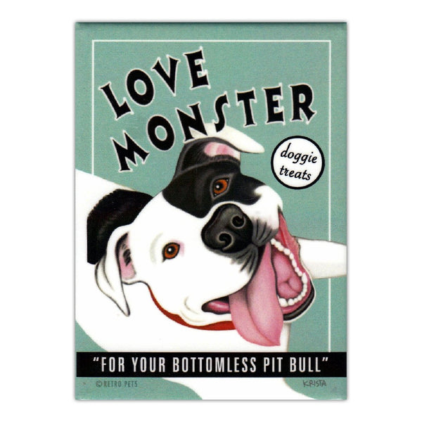 Refrigerator Magnet - Love Monster Doggie Treat