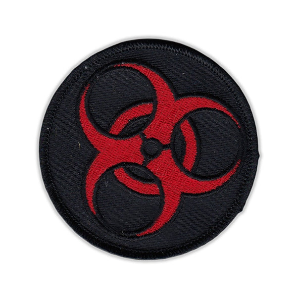 Patch - Zombie Symbol (Black and Red)