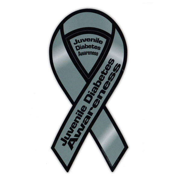 Ribbon Magnet - Juvenile Diabetes