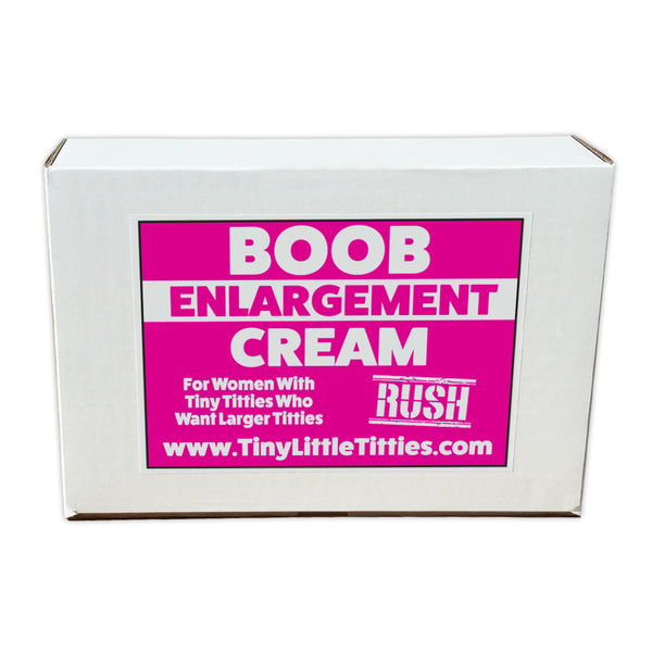 "Prank Product Box - Boob Enlargement Cream (10"" x 7"" x 3"")Prank Product Box - Boob Enlargement Cream (10"" x 7"" x 3"")"