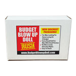 "Prank Product Box - Budget Blow Up Doll (10"" x 7"" x 3"")"