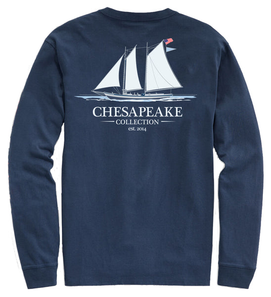 Oyster Schooner Long Sleeve