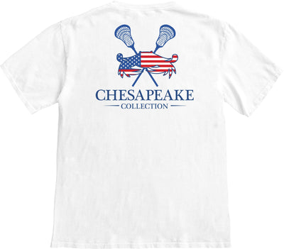 All American LAX T-shirt - Chesapeake Collection