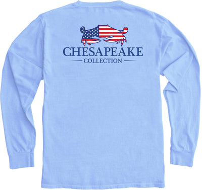 American Crab Long Sleeve - Chesapeake Collection