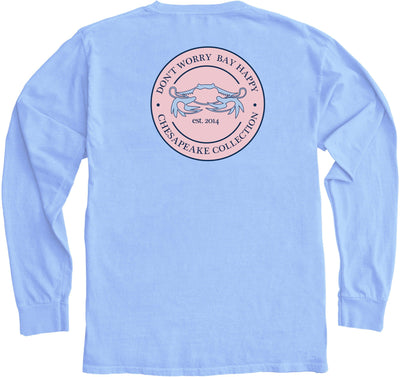 """Bay Happy"" Pink Seal LS - Chesapeake Collection"