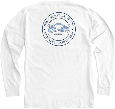 """Bay Happy"" Seal Long Sleeve - Chesapeake Collection"