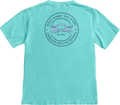 """Bay Happy"" Seal T-shirt - Chesapeake Collection"