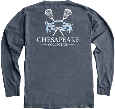 Carolina Crab LAX Long Sleeve - Chesapeake Collection